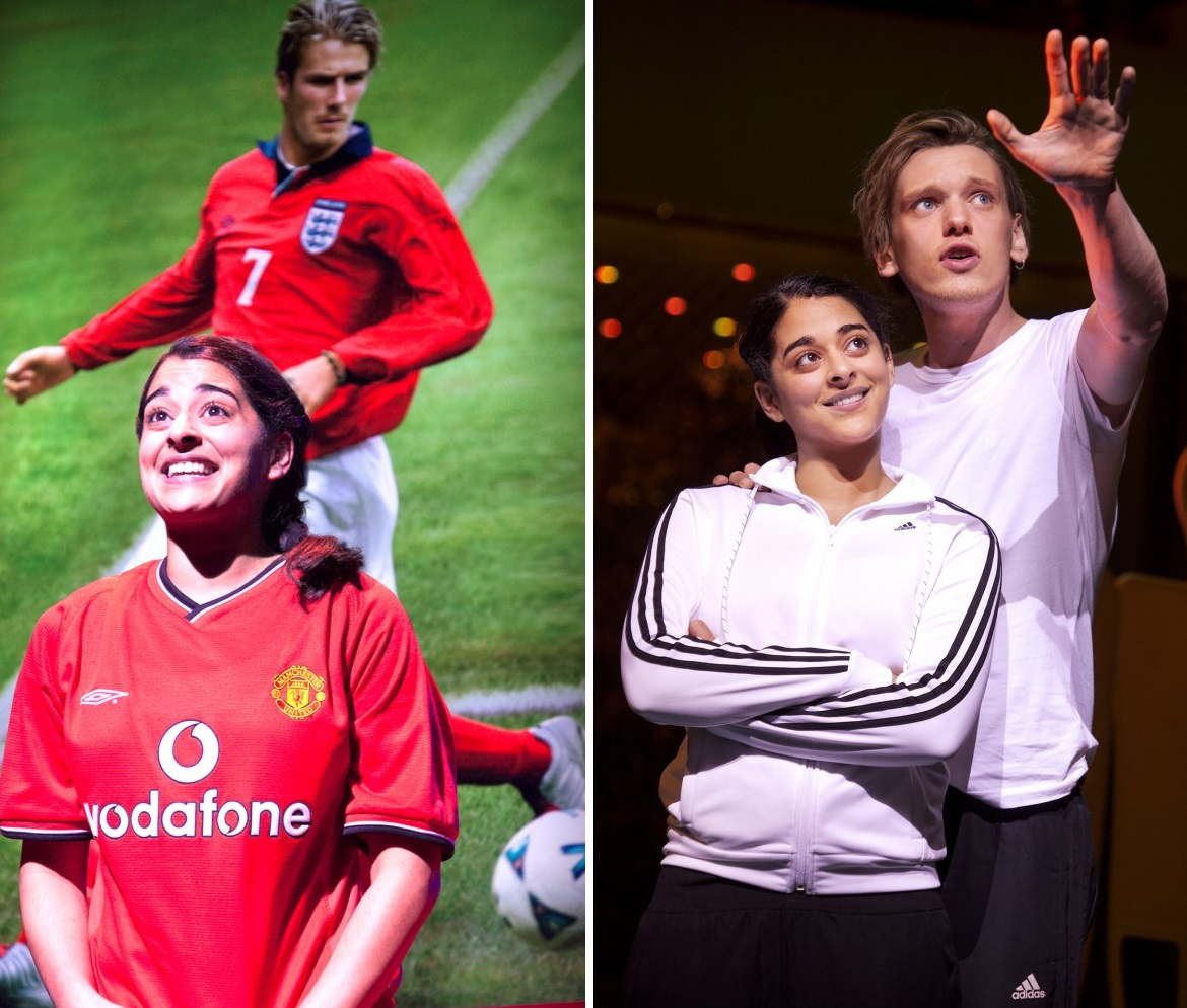 Bend It Like Beckham The Musical Jamie Campbell Bower Natalie Dew