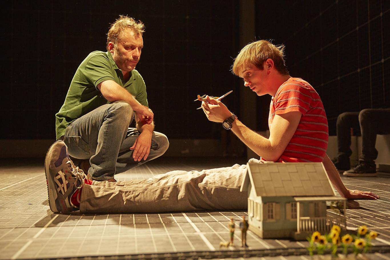 The Curious Incident Of The Dog In The Night Time Theatre West End Production