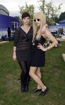 Pixie & Peaches Geldof