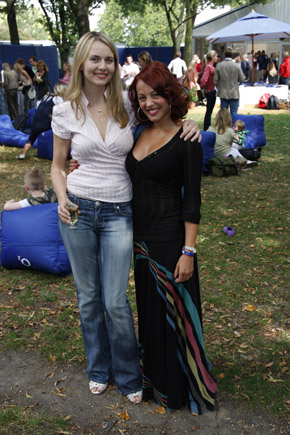 Debra Stephenson & Sarah Cawood