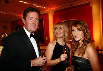 Piers Morgan and Jane Seymour