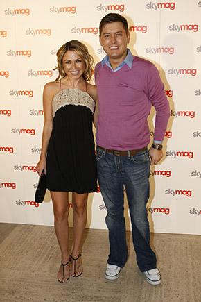 Adele Silva & Brian Dowling