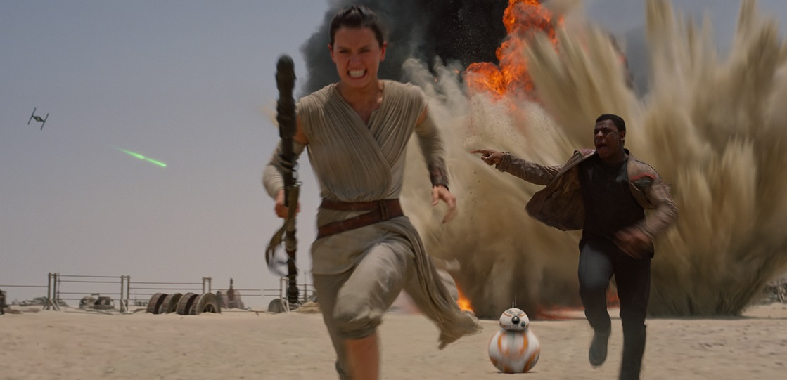 Star Wars: The Force Awakens Daisy Ridley John Boeyega