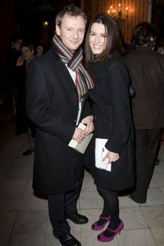 John Simms and Kate Magowan