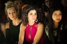 Marina Diamandis sitting front row