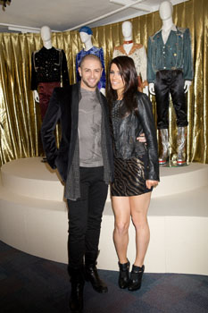 Brian Friedman and Lucy Jones