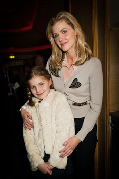 Donna Air and daughter