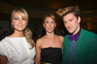 Alex Curran and Henry Holland