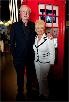 Sir Michael Caine CBE & Barbara Windsor MBE