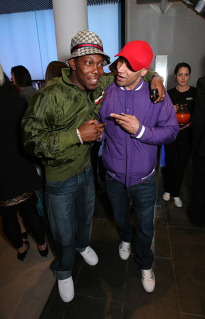 Dizzee Rascal and Goldie