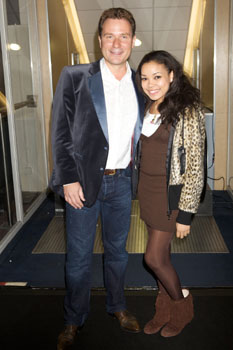 Richard Arnold and Dionne Bromfield
