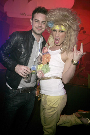 Danny Dyer and Jodie Harsh