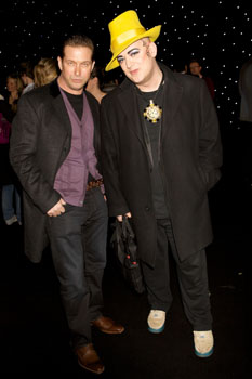 Stephen Baldwin and Boy George