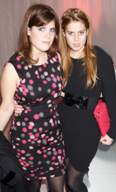 Princess Eugenie and Princess Beatrice